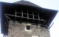Крыша Невицкого замка рухнула из-за непогоды
