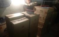 Больше, чем на полмиллиона: на Одесщине изъяли контрабанду сигарет