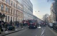 Горит Минкульт Украины – на третьем этаже заблокированы работники