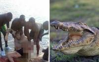 В Уганде крокодил откусил ногу купающемуся туристу