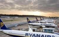 Ryanair закрывает рейсы из Киева