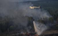 Под Чернобылем снова вспыхнул пожар