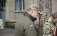 Зама облвоенкома посадили в СИЗО и назначили залог в 500 тыс. гривен