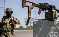 Военные ВСУ уничтожили еще одну огневую точку боевиков (видео)