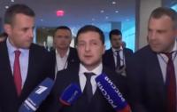 Зеленский пытался говорить с российскими пропагандистами на украинском