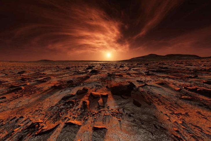 Европейские учёные «нашли» на Марсе древний ускоритель элементарных частиц