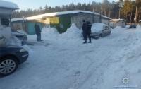 Стрелявший по гаражам киевлянин случайно ранил прохожего