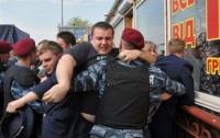 В Киеве горел очередной скандальный рынок