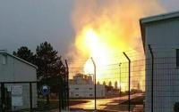 Взрыв на газопроводе в Австрии попал на видео