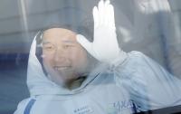 Японский астронавт сильно вырос на МКС