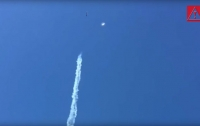 В Чили НЛО едва не сбил реактивный самолет (видео)