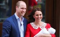 Сына принца Уильяма и Кейт Миддлтон назвали