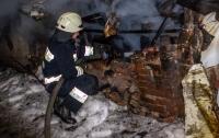 В Днепре горел жилой дом: еле спасли двух мужчин (видео)