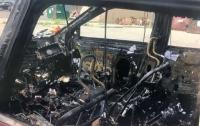 В США смартфон полностью сжёг автомобиль