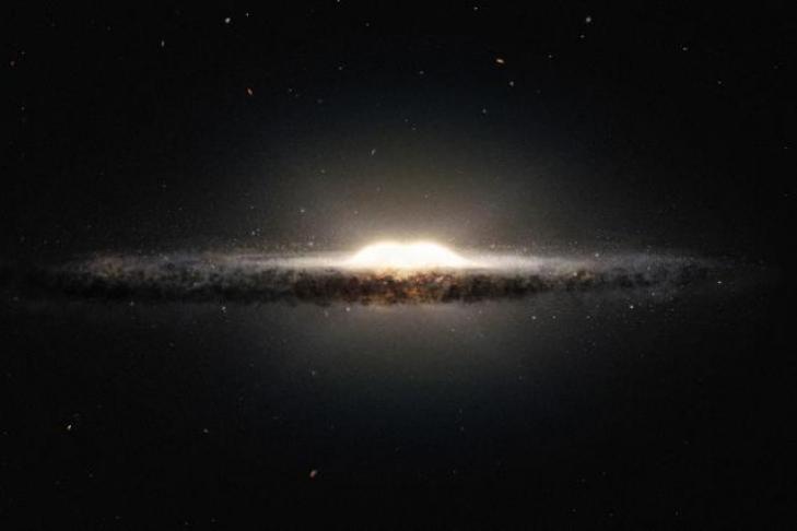 Ученые впервый раз  увидели спирали «темной стороны» Галактики