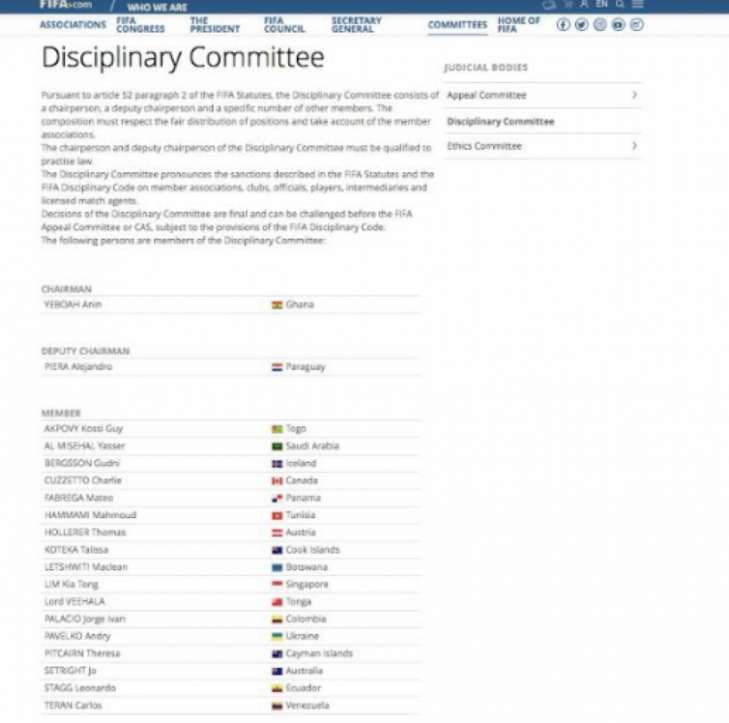 В ФИФА опровергли клевету швейцарского журналиста про президента УАФ