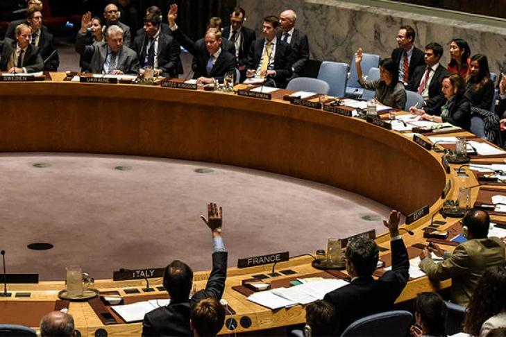 США наложили вето нарезолюцию Совбеза ООН поИерусалиму