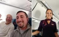 Папа заказал 6 перелетов, чтобы провести праздники с дочкой-стюардессой
