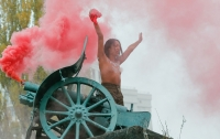 Femen провели очередную эпатажную акцию в Киеве