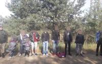 Пограничники во Львовской области задержали 11 нелегалов из Турции