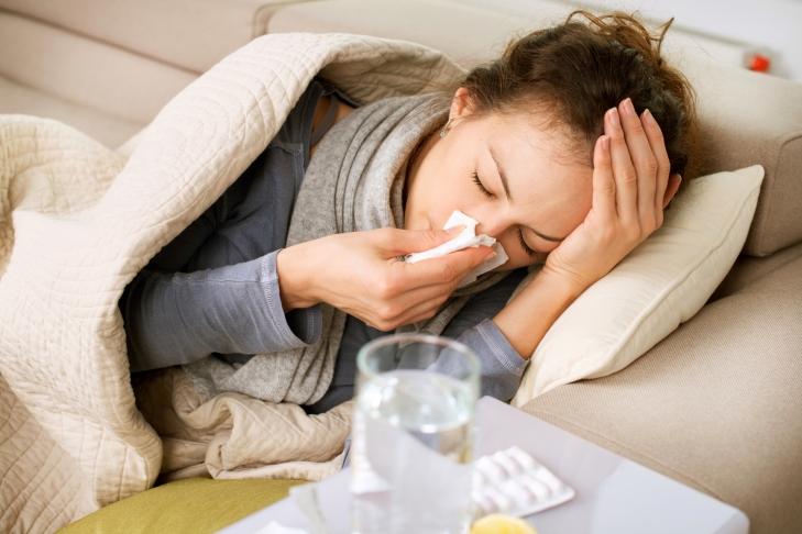 За минувшую неделю уровень заболеваемости ОРВИ игриппом снизился на12%