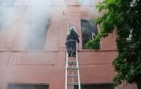 В Николаевской области горела психбольница, пострадали пациенты (видео)