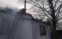 Утром горел детский садик (видео)