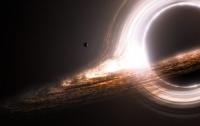 Черная дыра подавилась осколками звезды