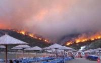 В Греции массово эвакуируют туристов