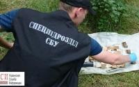 Оперативники СБУ нашли тайники со взрывчаткой под Одессой