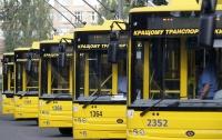 В Киеве по ночам перестанут ходить троллейбусы на Троещину