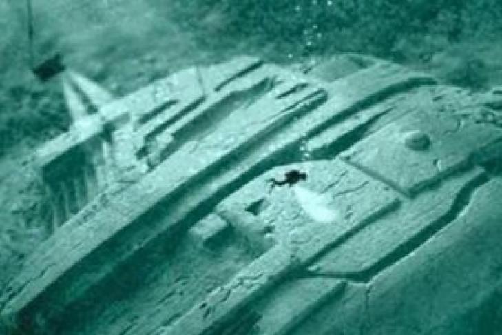Надне Балтийского моря найден космический корабль