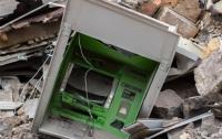 Двое мужчин взорвали банкомат и украли деньги