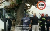 Смертельное ДТП: на трассе Киев-Харьков грузовик вылетел с дороги
