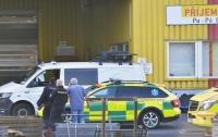 В Чехии вертолет упал на склад: есть жертвы