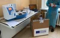 Украина получит оборудование для усиления тестирования на COVID-19