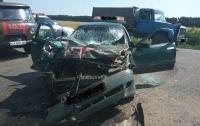 Ужасное ДТП на Черкасщине: шесть травмированных, среди них двое детей