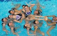 Украинки – чемпионки Европы в синхронном плавании