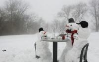 Лютая зима возвращается в Украину