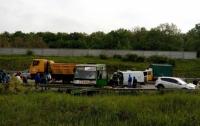 Страшная авария в Харькове: 11 пострадавших
