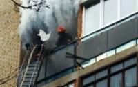В Луцке горела многоэтажка: погиб владелец одной из квартир