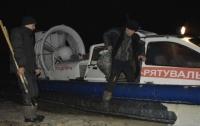 На Каховском водохранилище в Запорожской области спасли двух рыбаков