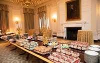 Чем кормят гостей на приемах у первых лиц государств