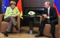 Меркель и Путин обсудили ситуацию в Черном море