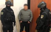 На Запорожье детективы ГБР задержали начальника одного из отделов полиции