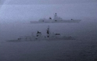Британский фрегат выдворил из своих вод российский корабль