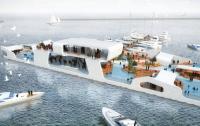 В Чикаго планируют создать плавучий остров-курорт (ФОТО)