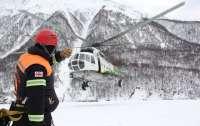 Грузинские спасатели ищут украинца, пропавшего в районе схода лавины