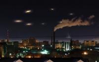 В небе над Марокко зависли десятки НЛО (видео)