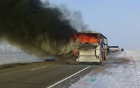 Пожар в автобусе в Казахстане: МВД страны сделало заявление